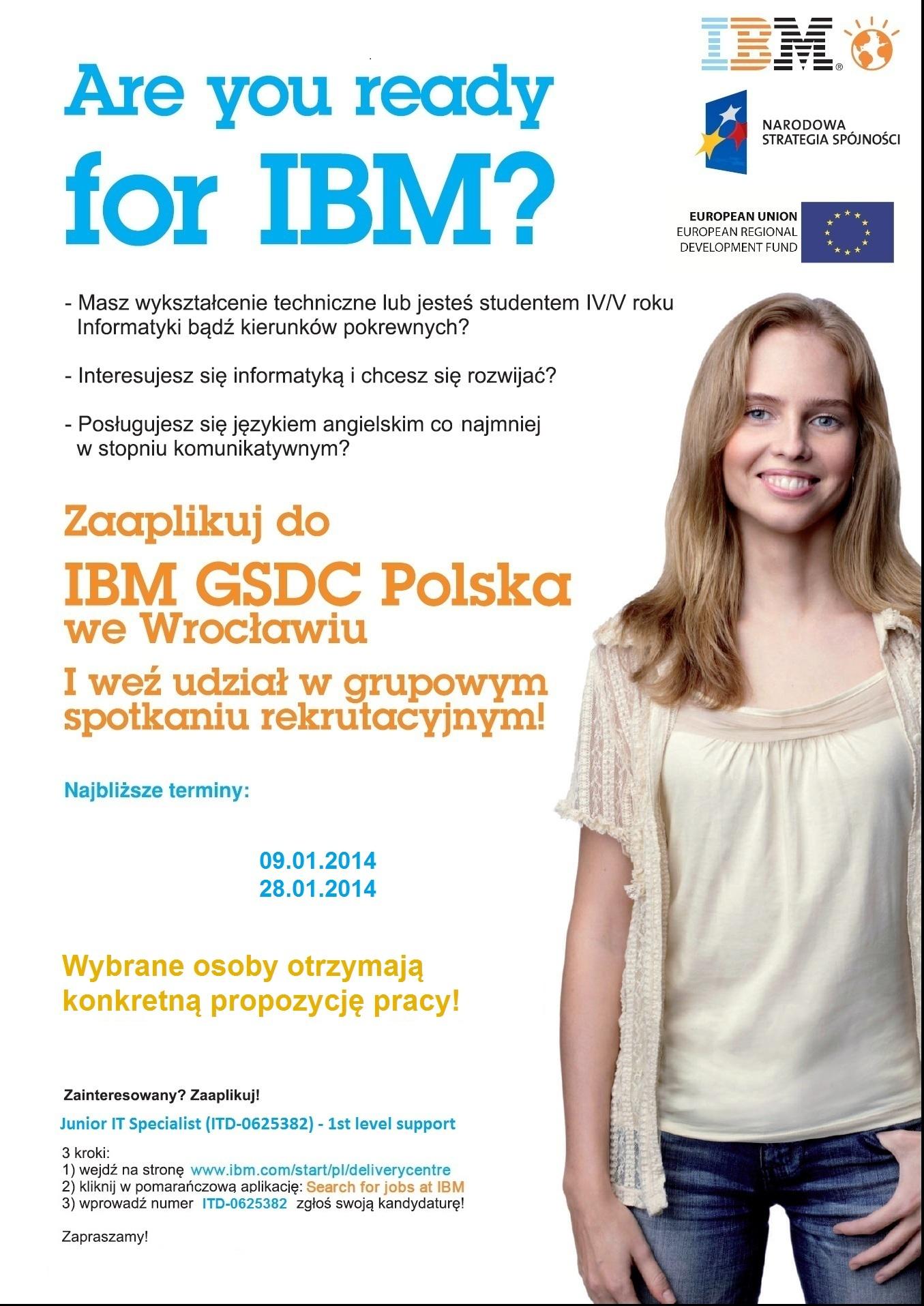 IBM rekrutacja